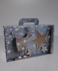 Koffer Christmas Carol 32,7x21x11,5cm (P/25)
