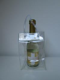 Ice bag Baby clear 9,5x9,5x15cm hoog (fles37,5cl)