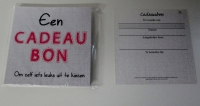 cadeaubon 13,5x13,5 cm inclusief envelop NO 02