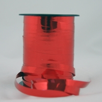 Krullint metalic rood 10mmx250meter.