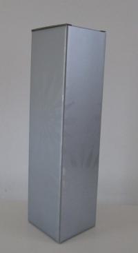 Kokerdoos Rosace Zilver voor 1 fles