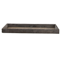 Houten tray 42x14x3cm (p/6 st.)