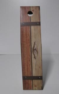 Draagdoos dicht Oak barrel 1 fles 9x9x38cm (p/50)