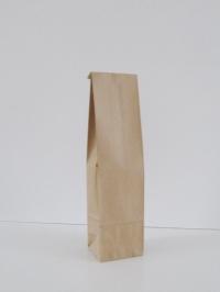 Blokbodemzak  papier naturel 41x10x8 cm 1 fles (p/250)