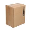 Verzenddoos 6 bierflessen(20,7x13,7x23,8cm) (p15st.)