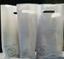 """Plastic tas 3 flessen wit """"Smart Green"""" 100% recyclebaar"""