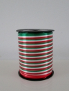 Krullint vlag groen,wit,rood10 mm x 250 yard (Italië)