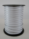 Krullint reflex stripe 10mmx150 mtr. wit/zilver