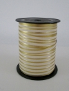 Krullint reflex stripe 10mmx150 meter ivoor/goud