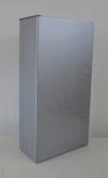 Kokerdoos Rosace zilver voor 2 flessen (p/50)