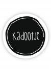 Rol etiket Kadootje 35mm rond (rol/500) No.12
