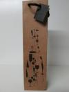 Draagtas Melo  koord HV  100x90x390mm naturel 1 fles
