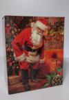 Kerstpakket doos Kerstman  28x20,5x35cm  (p/20)