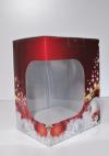 Kerstpakketdoos + venster 28x20,5x35cm (p/20)