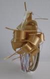 Trekstrik op rol bi-color brons/ivoor