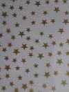 Folie ster klein goud P30 60cmx120meter.