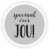 Rol etiket Speciaal voor Jou 35mm rond (rol/500)No 50