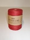 Rol Jute touw Diep rood 3mmx150meter