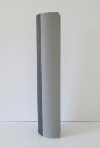 Cadeaupapier Double Zwart/Grijs Kraft  50cmx98mtr.
