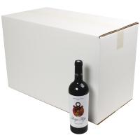 Verzenddoos 12 flessen(38,6x28,5x36cm)    (p10st)