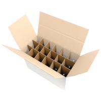 Verzenddoos 18 flessen (58,5x28,5x36cm)   (p10st)